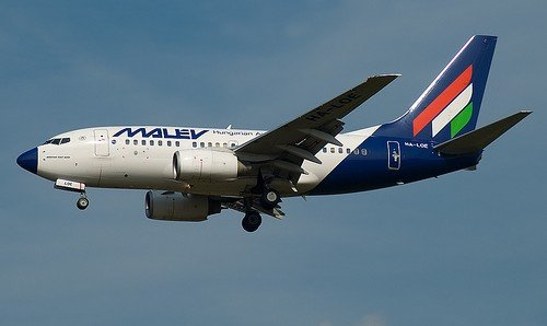 HA-LOE Malev - Hungarian Airlines Boeing 737-6Q8