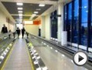 The movie was taken during a ride on a travelator in Sheremetyevo Airport between  terminals D  and E.